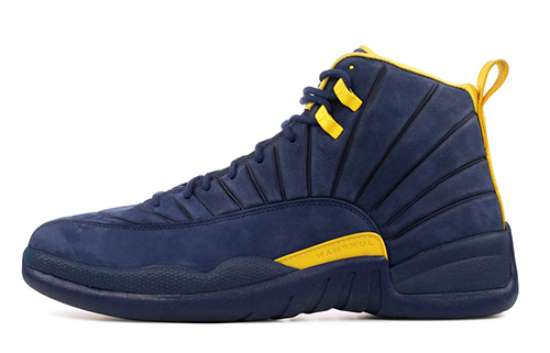 Air Jordan 12 Michigan Release