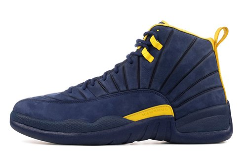 e9305e122bac Air Jordan 12 Michigan Release