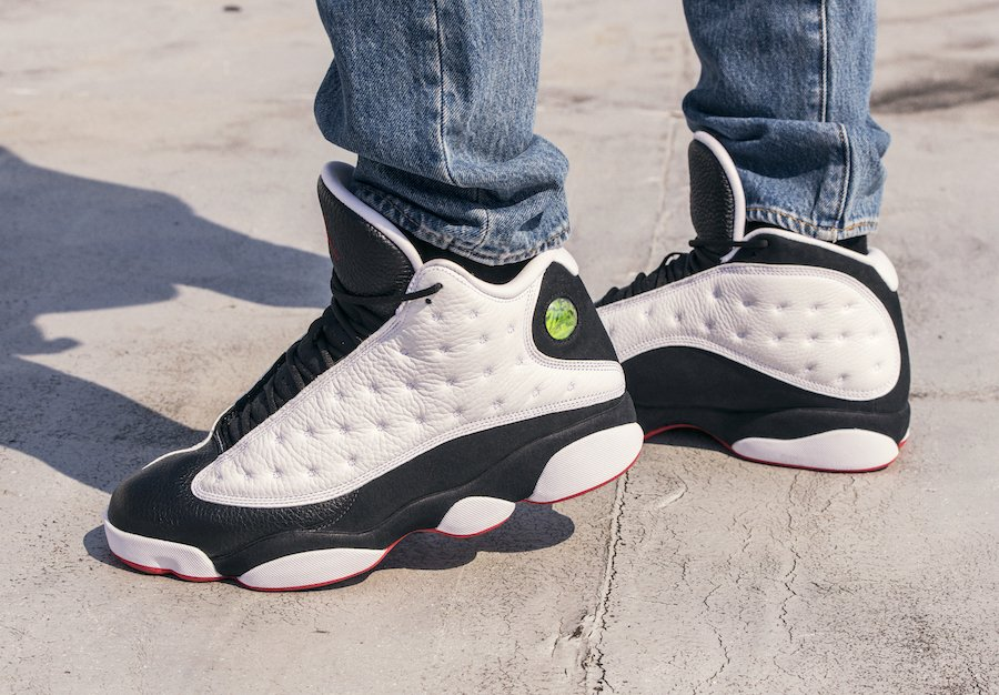 5091f7097c76c Air Jordan 13 He Got Game White Black True Red 414571-104 2018