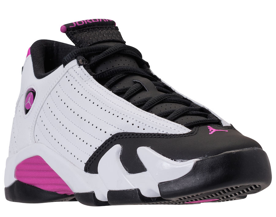 Air Jordan 14 GS Fuchsia Blast 654969-119