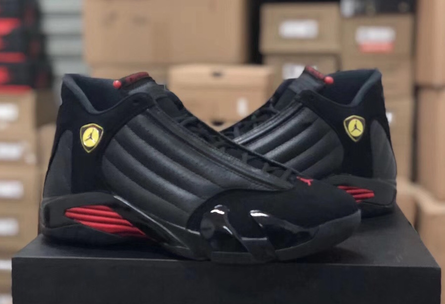 Air Jordan 14 Last Shot 2018 Black Red 487471-003