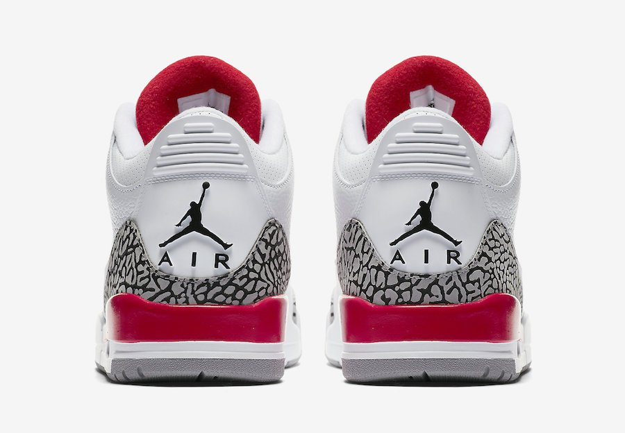 innovative design 342d2 70b1e Air Jordan 3 Katrina White Red 136064-116