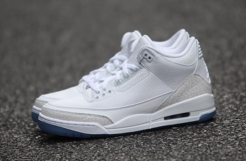 new product 21c4b b6bbe Air Jordan 3 Pure White 136064-111 Release Date | SneakerFiles