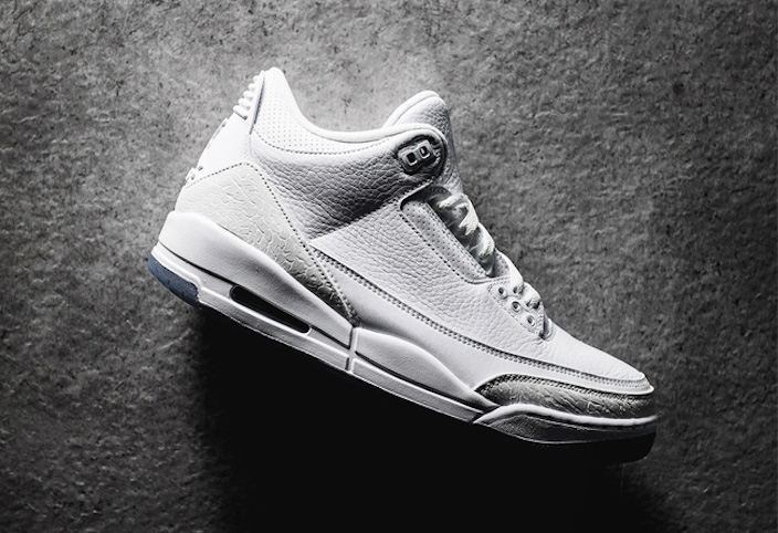 Air Jordan 3 Pure White 136064-111