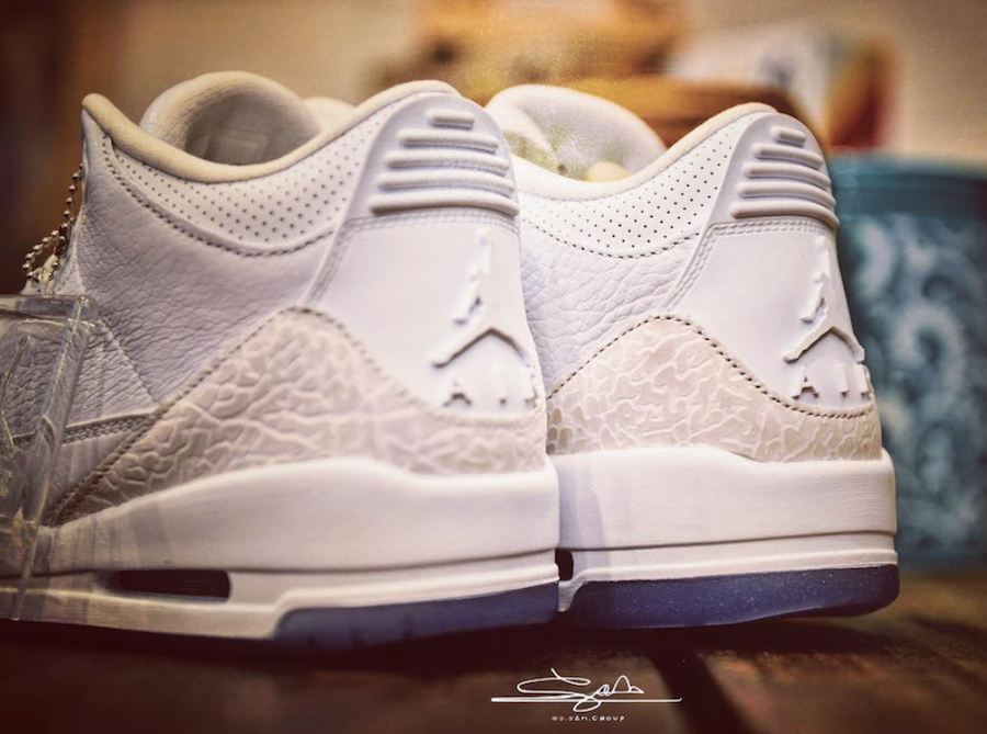 Air Jordan 3 White 2018