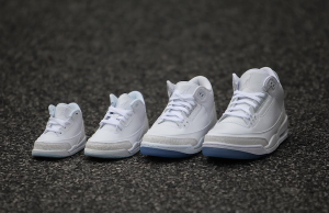 Air Jordan 3 White Family Sizing