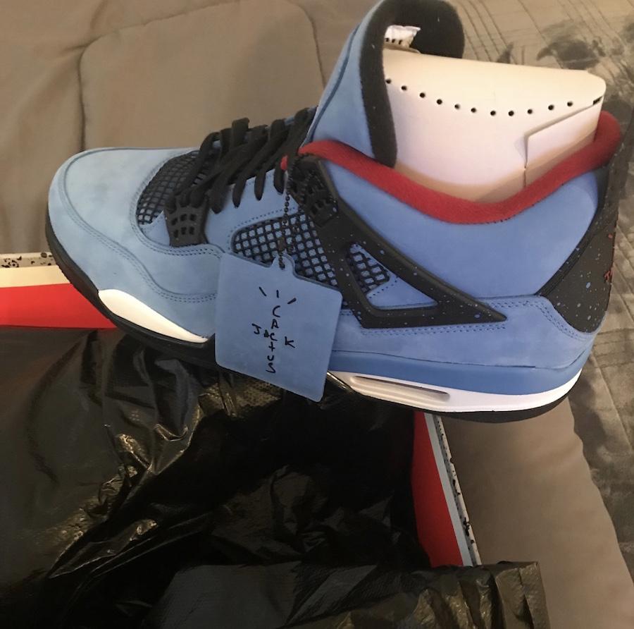 Air Jordan 4 Houston Oilers Travis Scott 308497-406