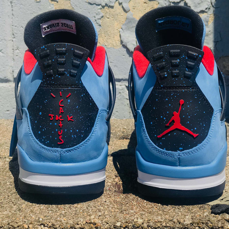 on sale e301d 243f7 Air Jordan 4 Houston Oilers Travis Scott 308497-406