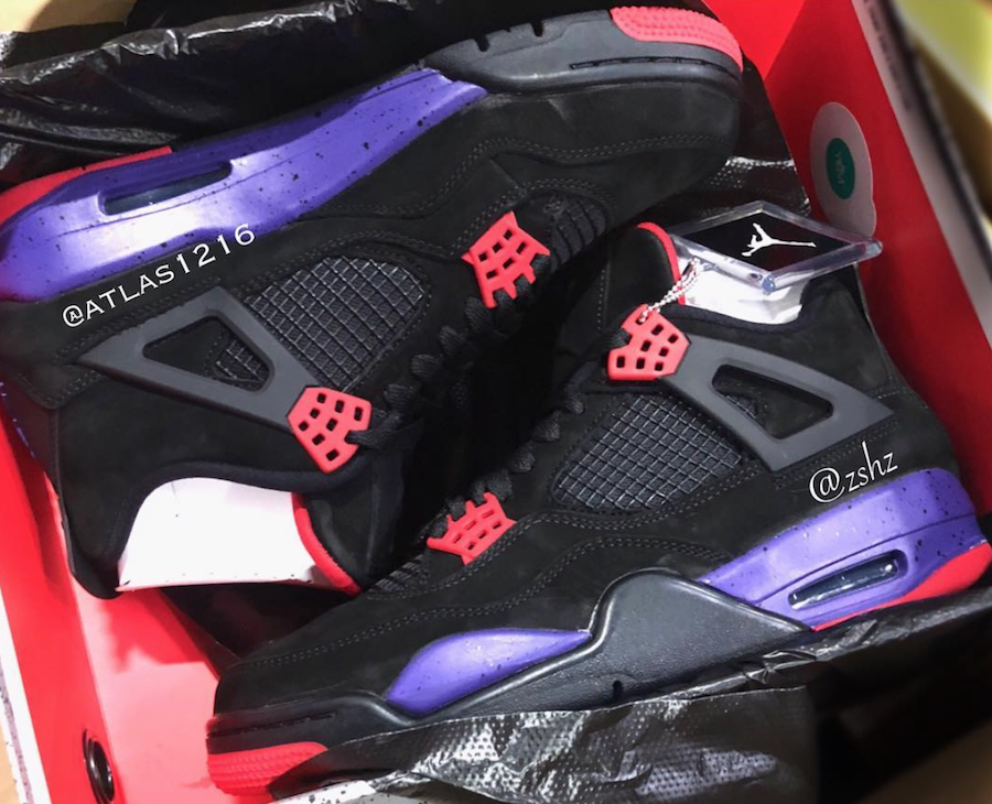 Air Jordan 4 Raptors AQ3816-056