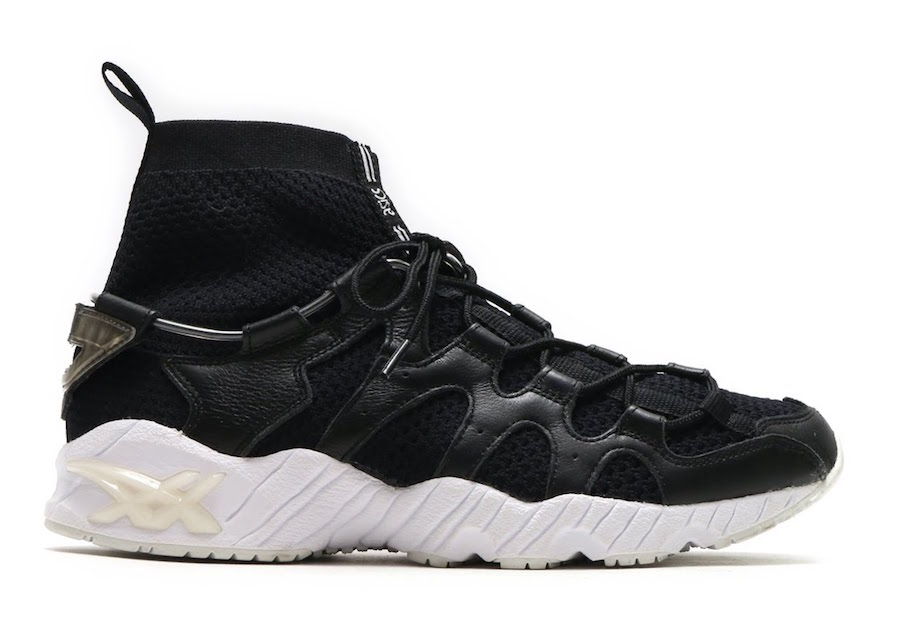 Asics Gel Mai Knit MT Black White