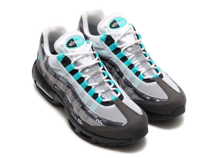 atmos Nike Air Max 95 Jade We Love Nike AQ0925 001