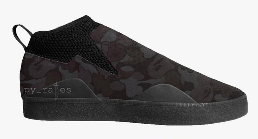 BAPE adidas 3ST.002 DB3003 Black