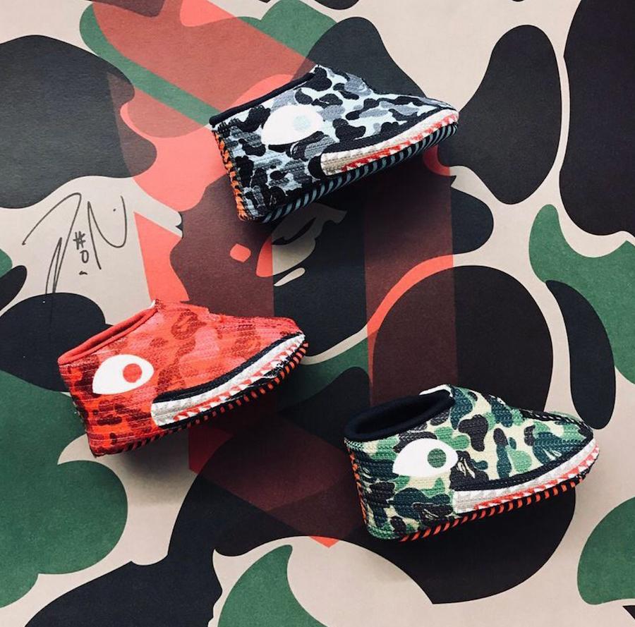 Dame Lillard Bape adidas Dame 4 Baby Sneakers