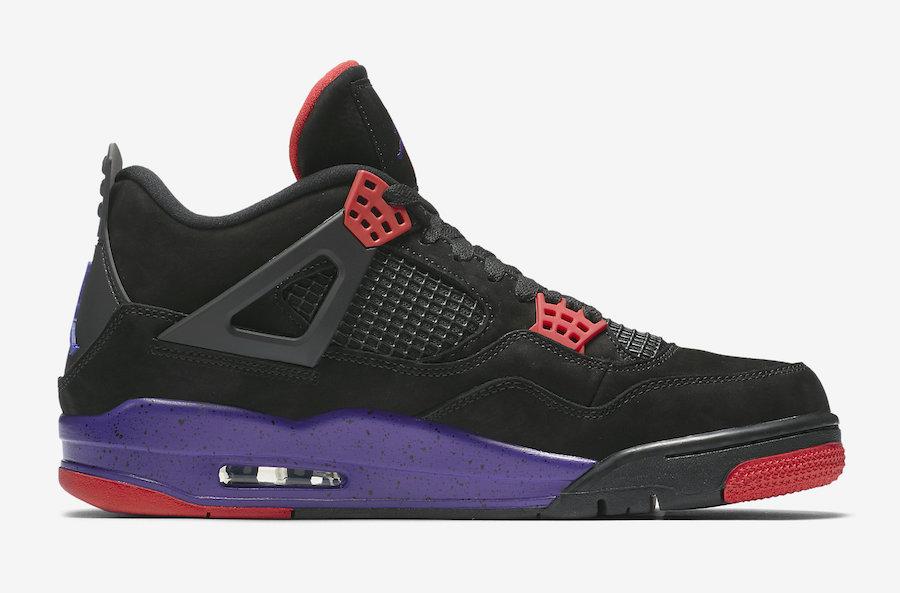 00d93f42a4fc39 Air Jordan 4 Raptors AQ3816-056 Release Date