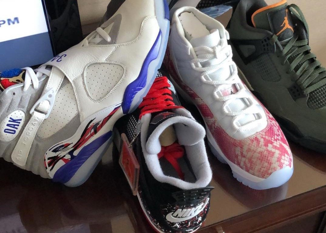 Drake Air Jordan Player Exclusives