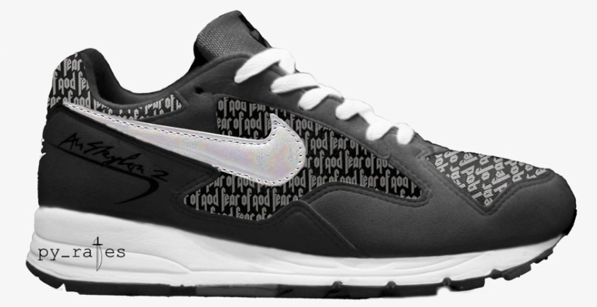 Fear of God x Nike Air Skylon 2 Black Anthracite