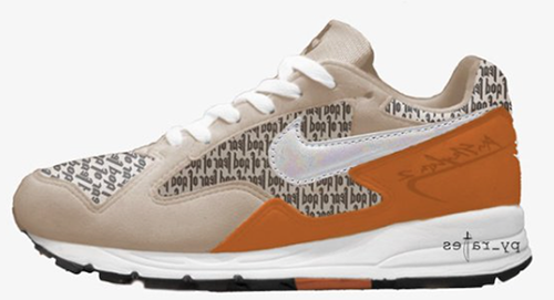 Fear of God Nike Air Skylon 2 Light Orewood Brown Fuel Orange