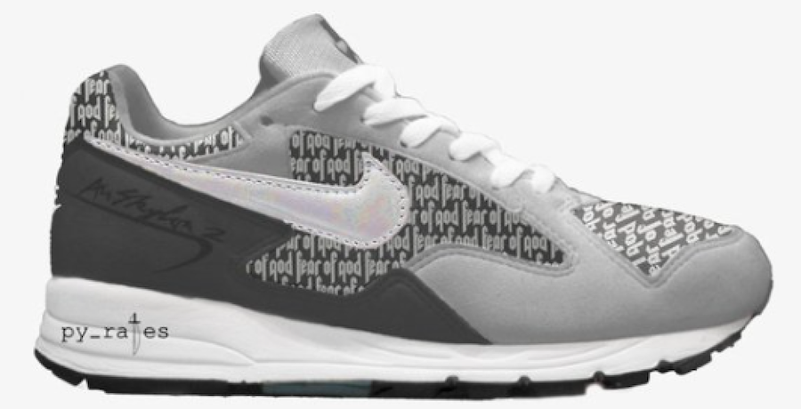 Fear of God x Nike Air Skylon 2 Wolf Grey Dark Grey