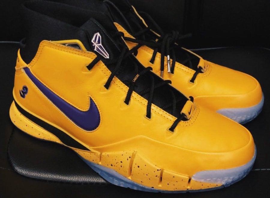 Isaiah Thomas Nike Kobe 1 Protro Lakers PE