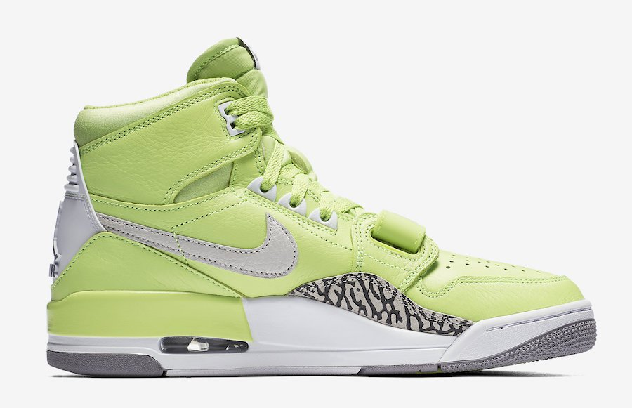 Jordan Legacy 312 Ghost Green White Tech Grey AQ4160-301