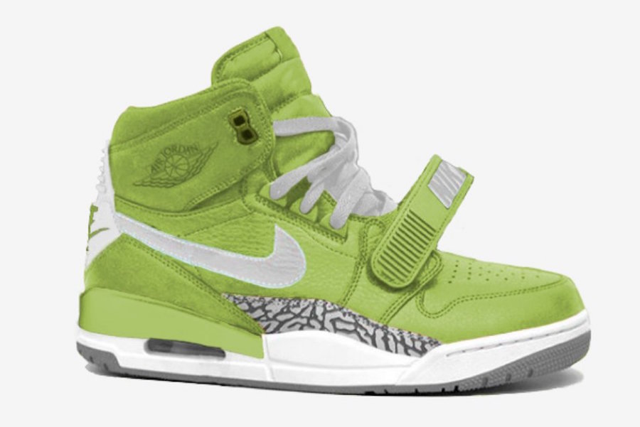 2445efb5ba0 Jordan Legacy 312 Ghost Green AQ4160-301 Release Date