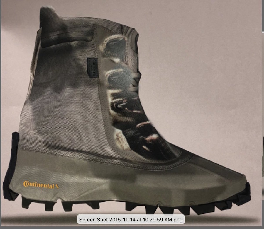 Kanye West adidas Yeezy 1050 Boot