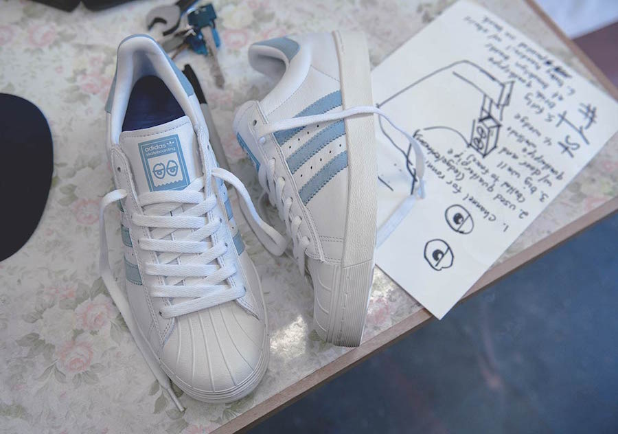 Krooked adidas Superstar Vulc Release Date