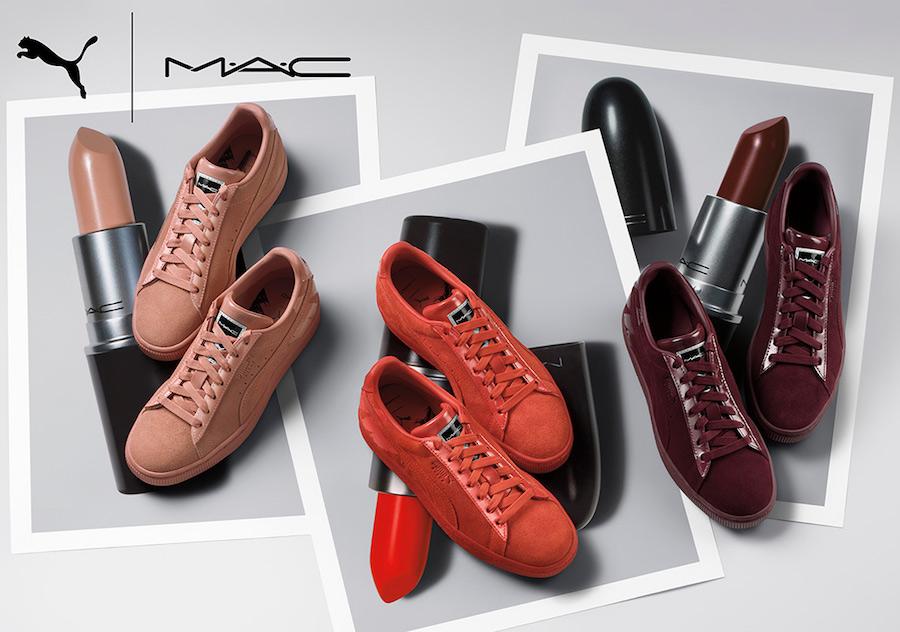 MAC Puma Suede Release Date