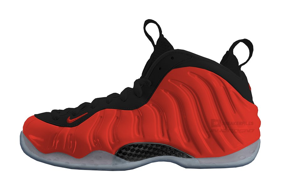 Nike Air Foamposite One Habanero Red 314996-603