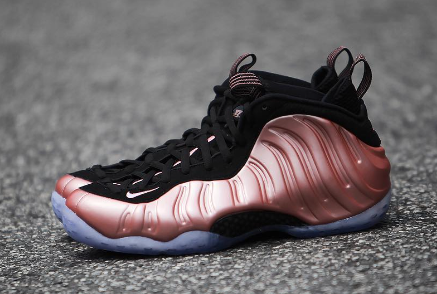 Nike Air Foamposite One Rose Rust Pink Release Date