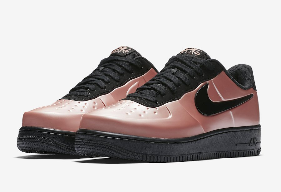 Nike Air Force 1 Foamposite Coral Stardust AJ3664-600