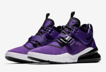 Nike Air Force 270 Court Purple Black White AQ1000-500
