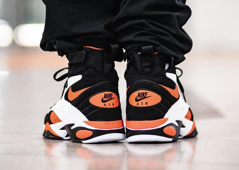 Nike Air Maestro II LTD Rush Orange On Feet