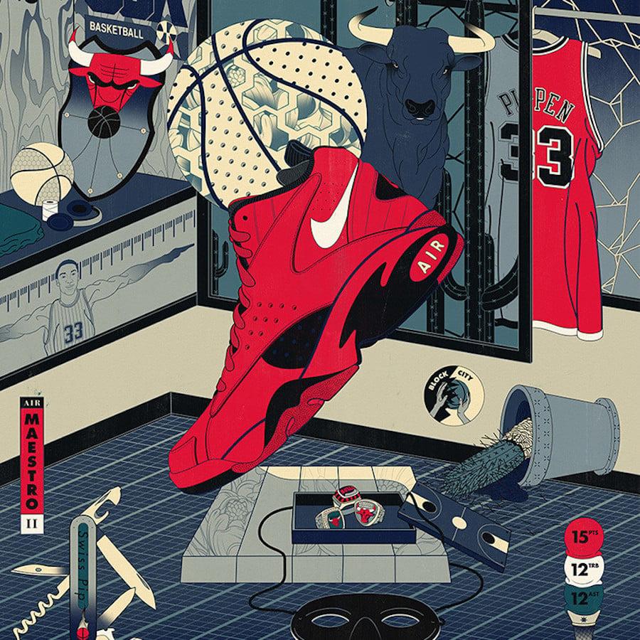 Nike Air Maestro II Trifecta Release Date