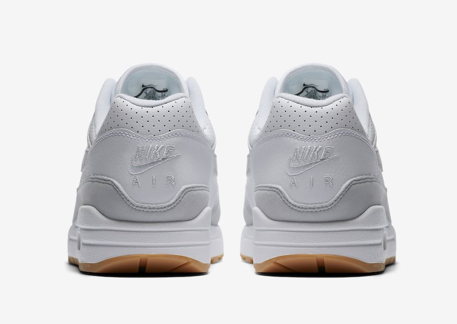 Nike Air Max 1 White Pure Platinum Gum Yellow AH8145-103