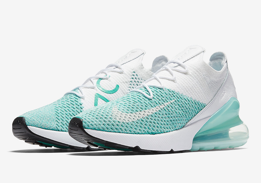 Get Ready For The Nike WMNS Air Max 270 Flyknit Clear