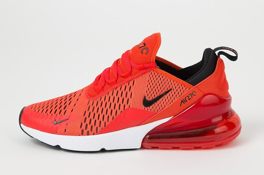 nike air max 270 black and red