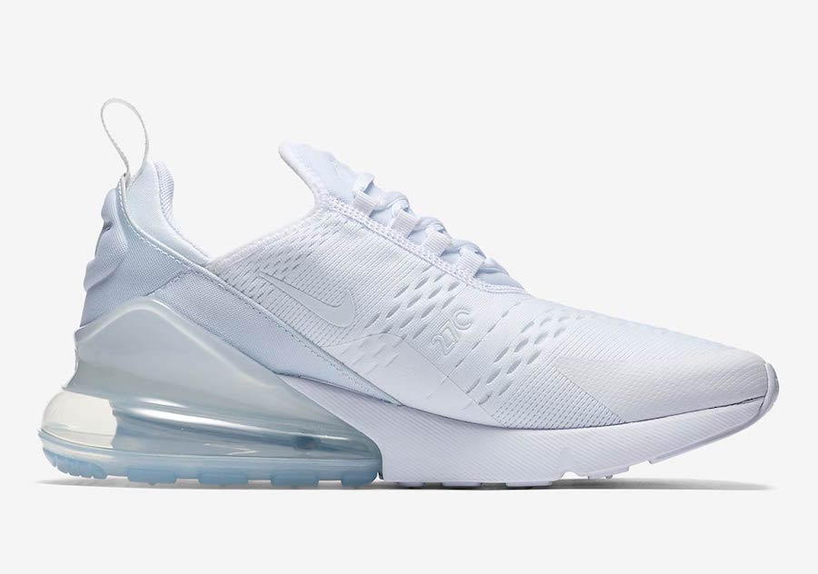 Nike Air Max 270 Triple White Nike Air Max 270 Triple White h6789-102
