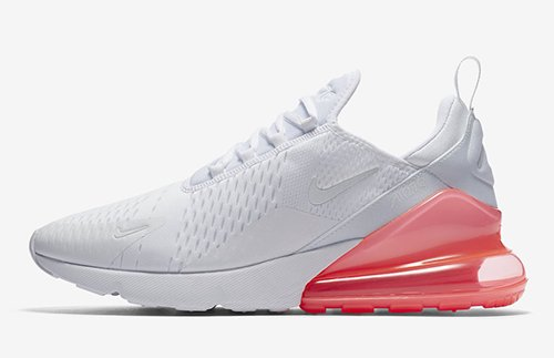 Nike Air Max 270 White Hot Punch