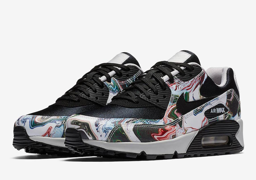 separation shoes cd81c 79007 Nike Air Max 90 Marble AO1521-001