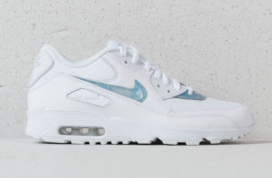 nike air max 90 mesh royal tint