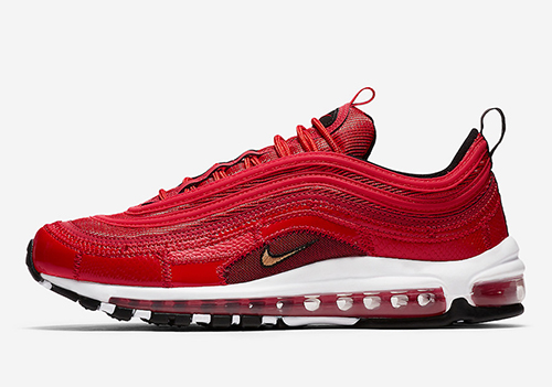 Nike Air Max 97 CR7 University Red Portugal Patchwork