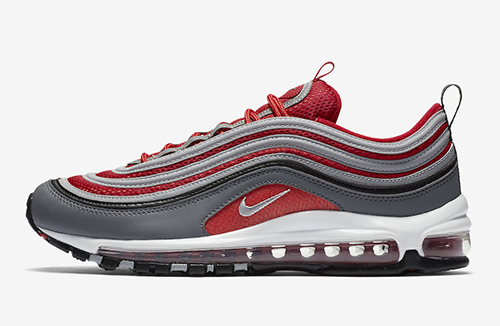 Nike Air Max 97 Gym Red Grey
