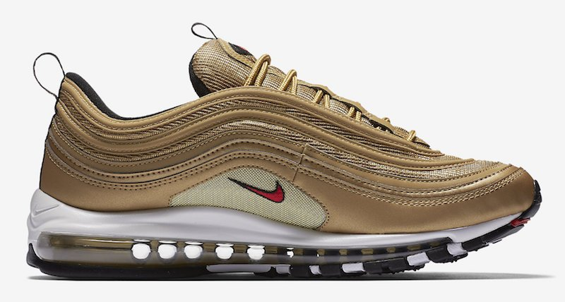 Nike Air Max 97 OG Metallic Gold 884421-700