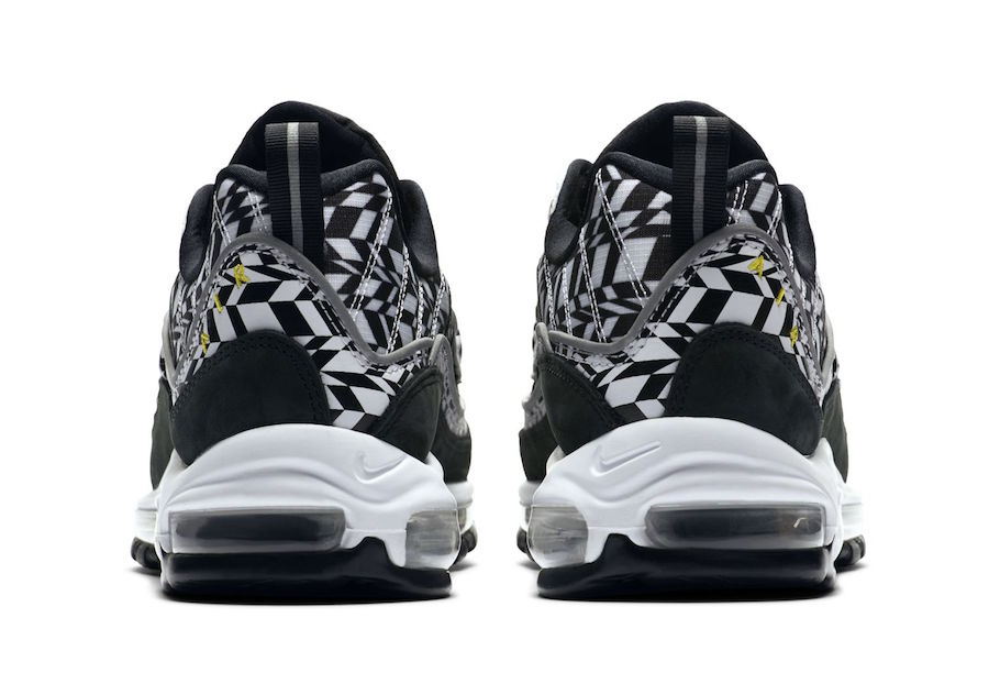 Nike Air Max 98 Fractal Print Release Date