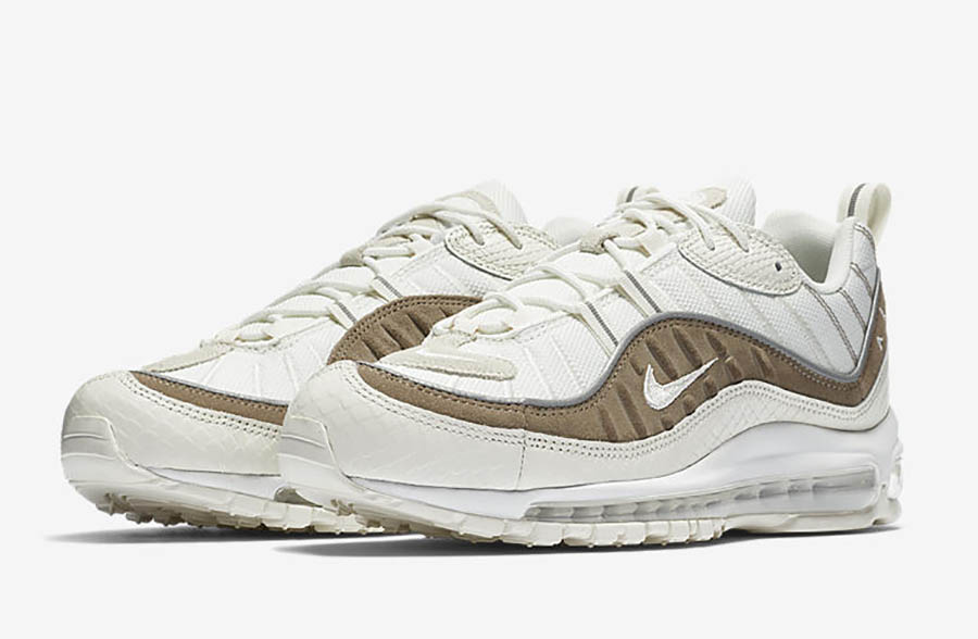 best service d1126 bde50 Nike Air Max 98 Snakeskin AO9380-100 | SneakerFiles