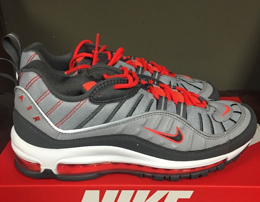 a02277f8f6 Nike Air Max 98 Total Crimson 640744-006 | SneakerFiles