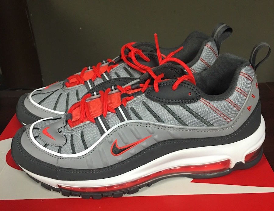 Nike Air Max 98 Total Crimson 640744-006