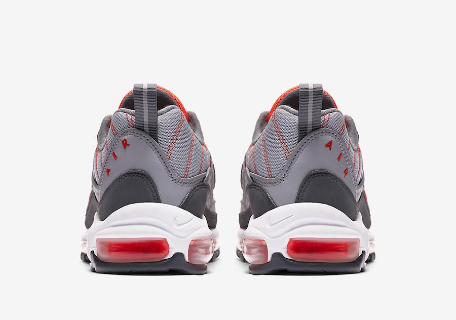 Nike Air Max 98 Total Crimson 640744-006 Release Date