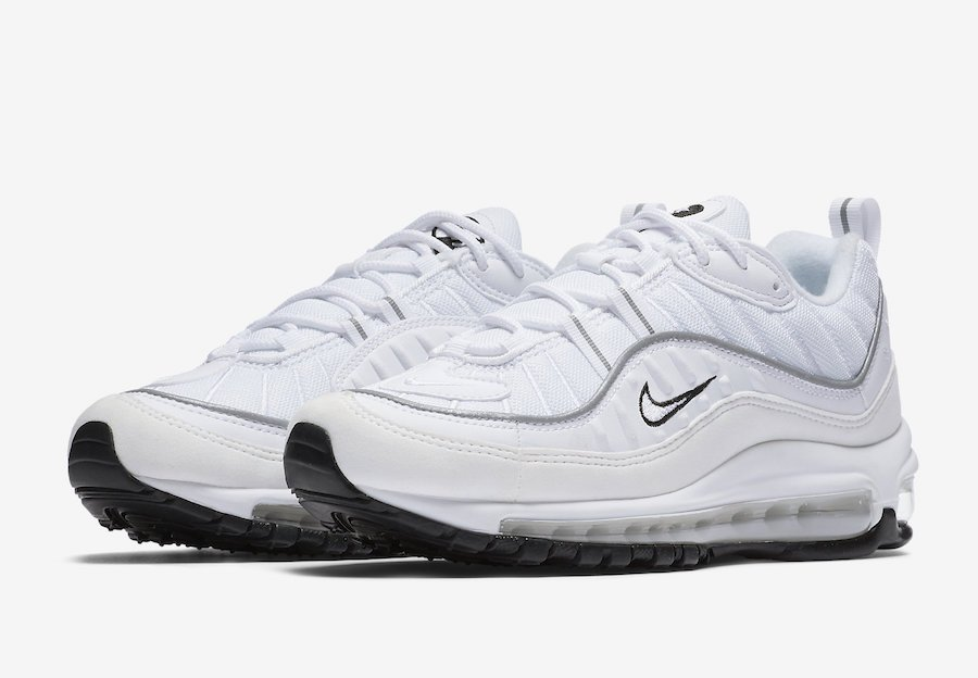 Nike Air Max 98 White Reflective Silver AH6799-103